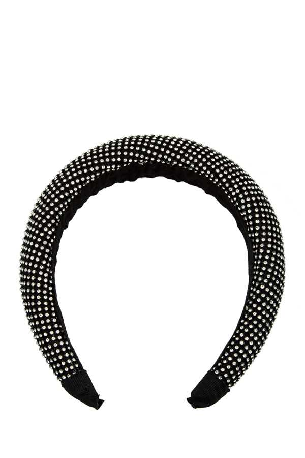 Full Rhinestone Thick Head Band