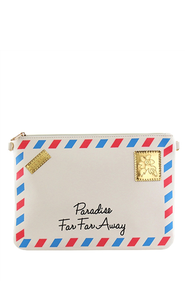 Far away envelope clutch