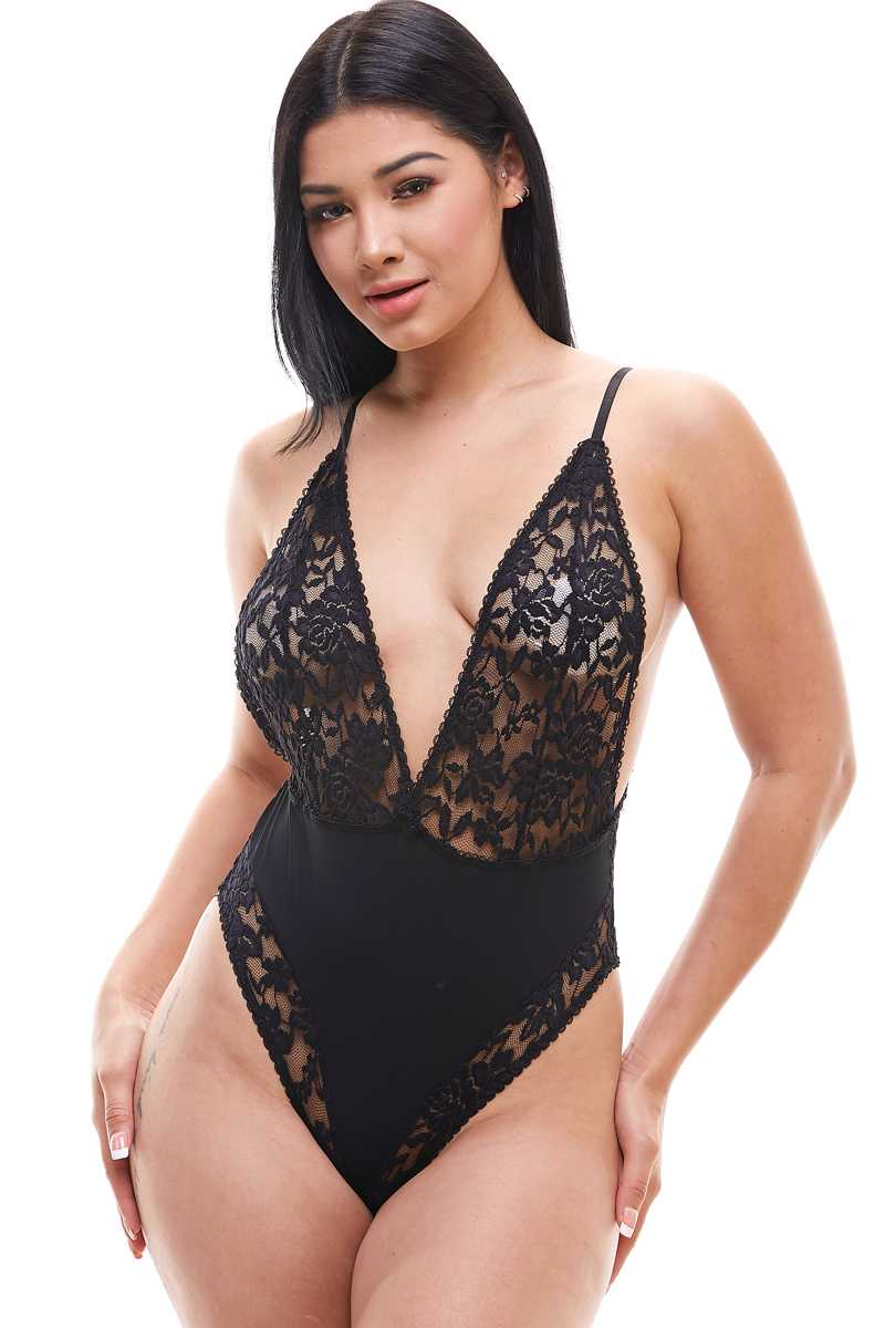 Lace stretchable Bodysuits