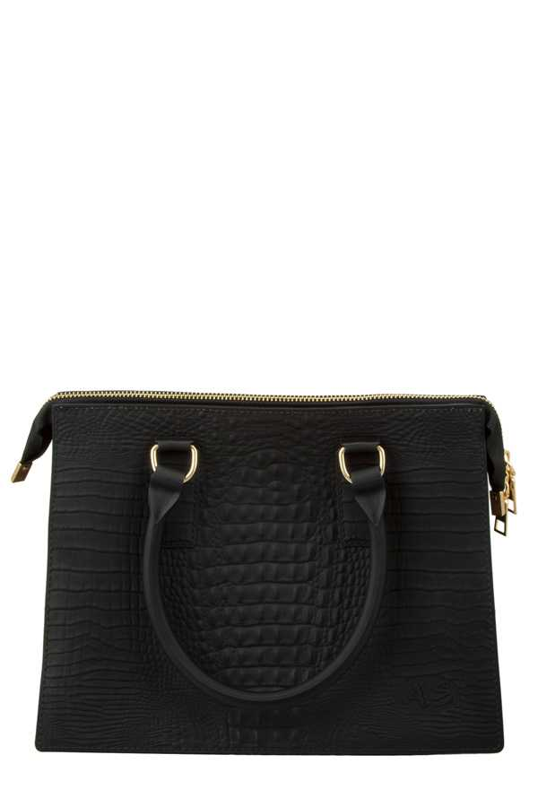 Crocodile Texture Jelly Shoulder Bag