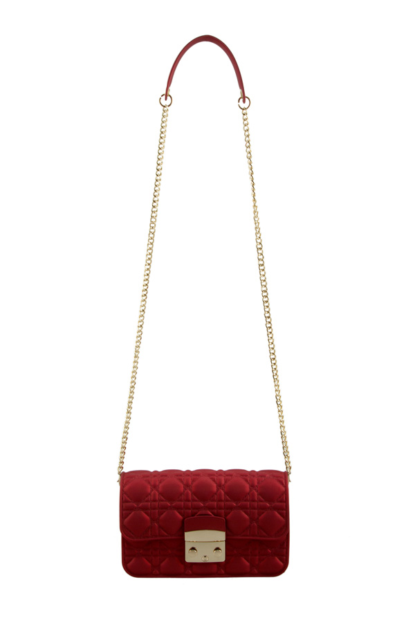 Quilted Jelly Cross Body Bag