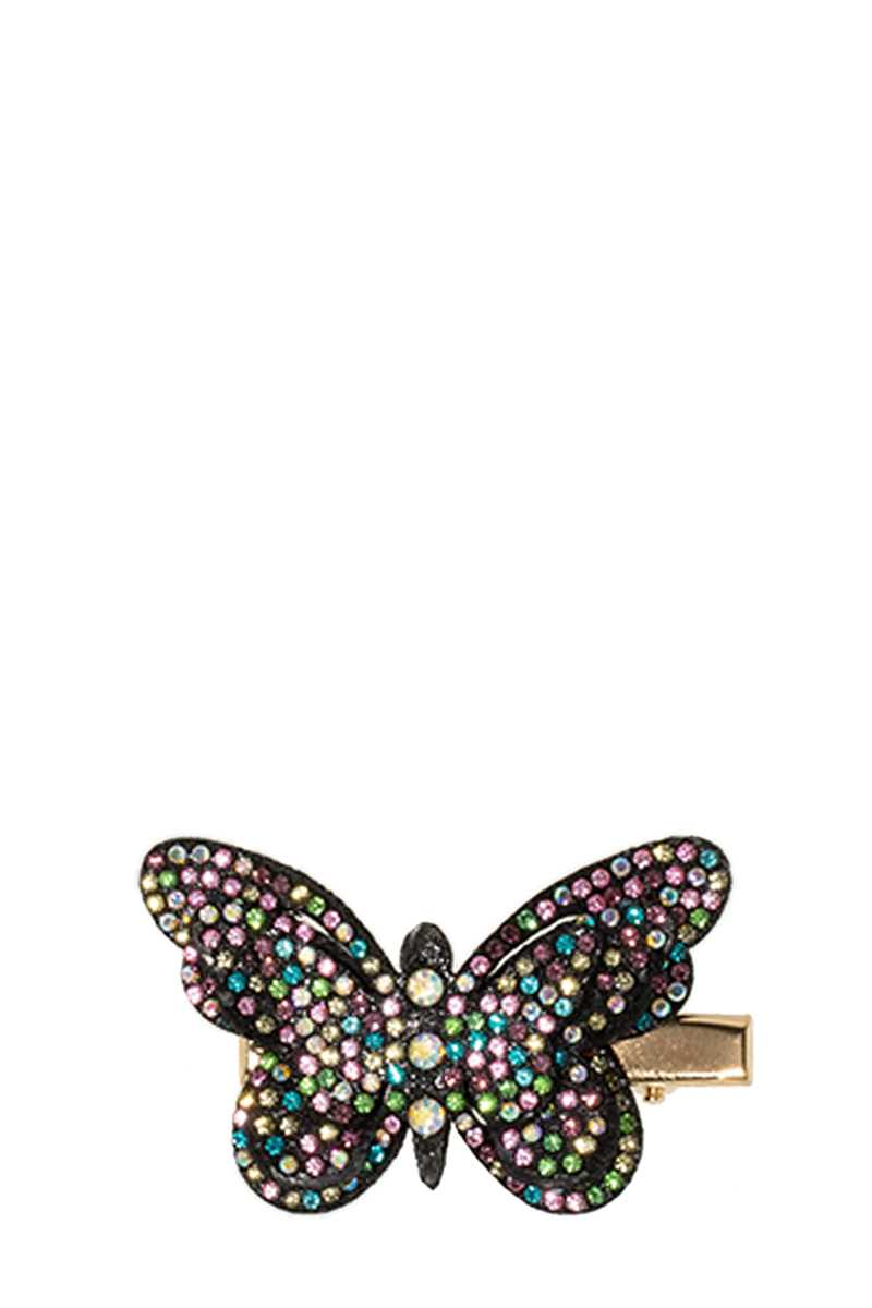Rhinestone Paved Butterfly Hair Clip