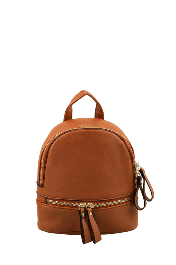 Small Size Fashion PU Backpack