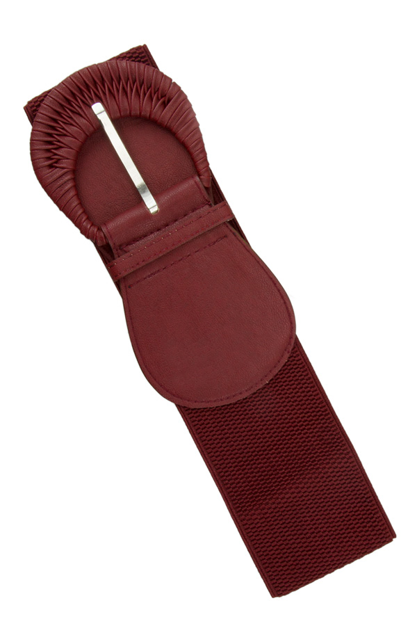 Wrapped Buckle Elastic belt