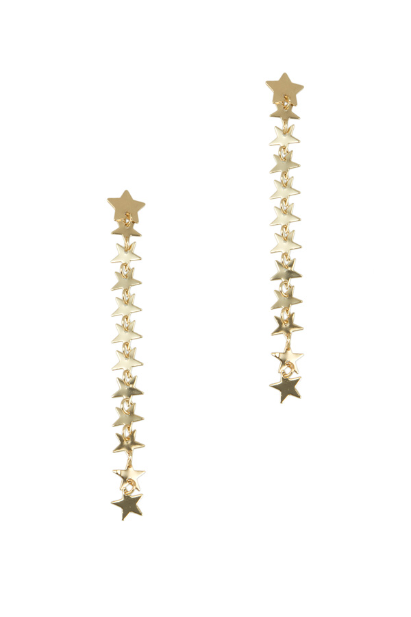 Stars Drop earring
