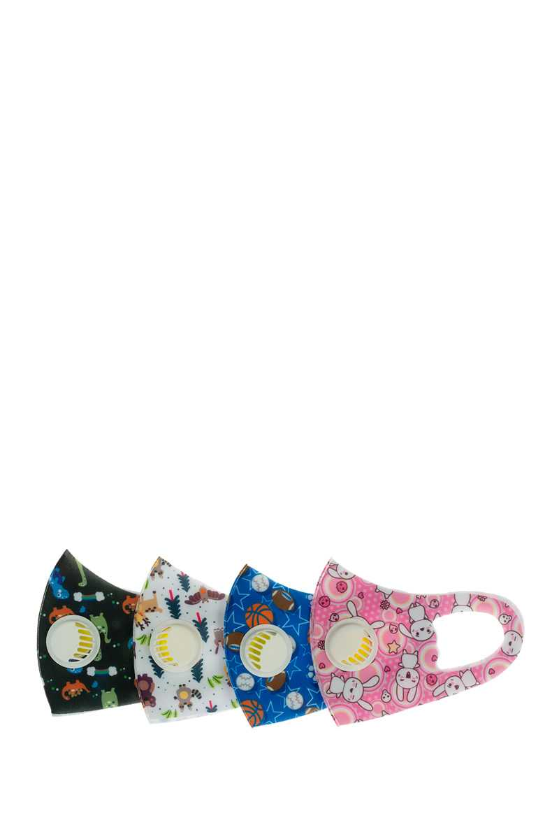 Mixed Print KIDS Face Mask with Filter
