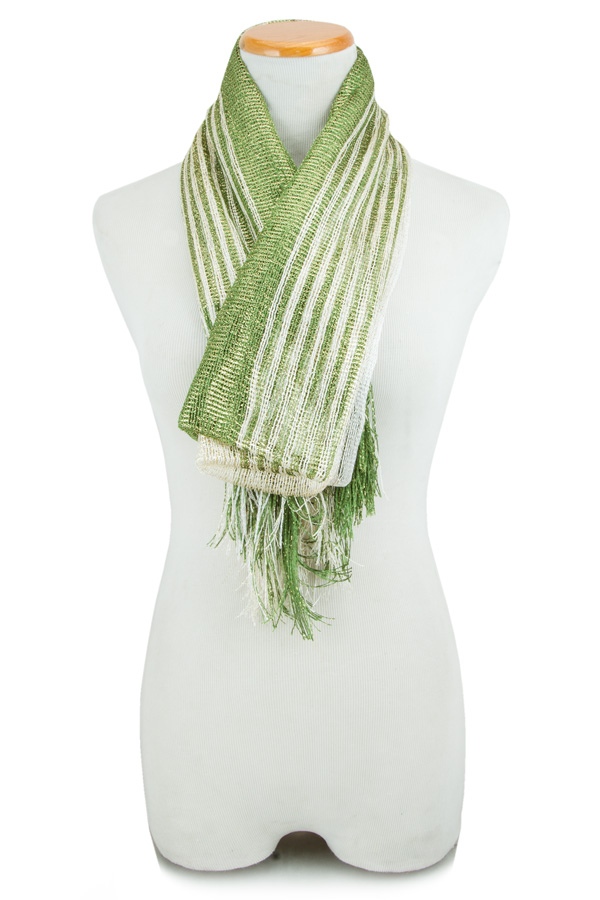 Stripe Shimmer and Shine Scarf