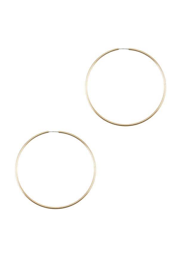 80mm Fashion Hoop Earring