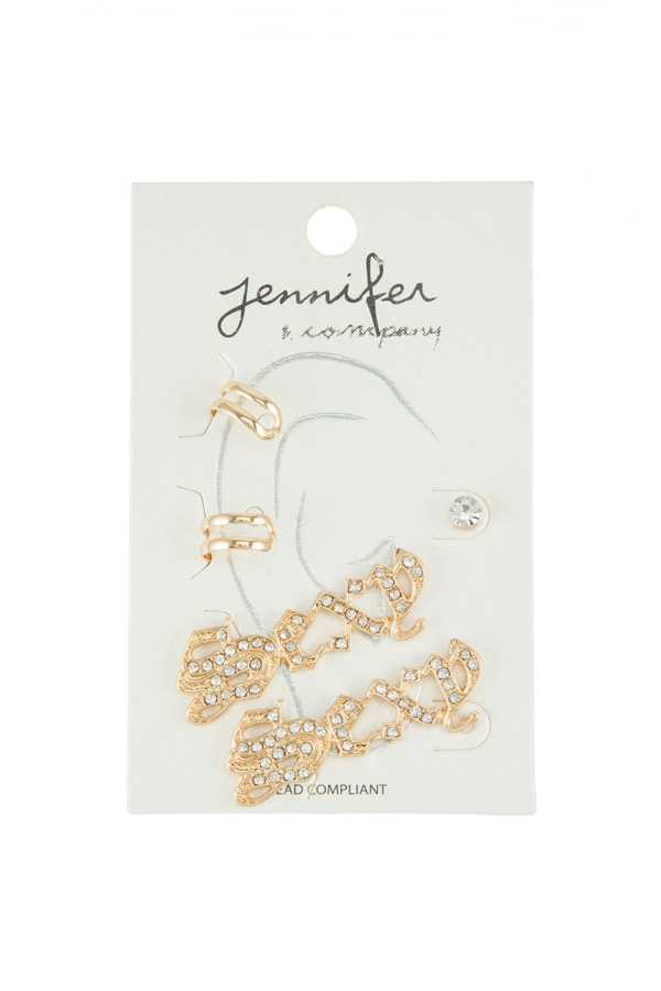 SEXY Earring and Ear Cuff Set