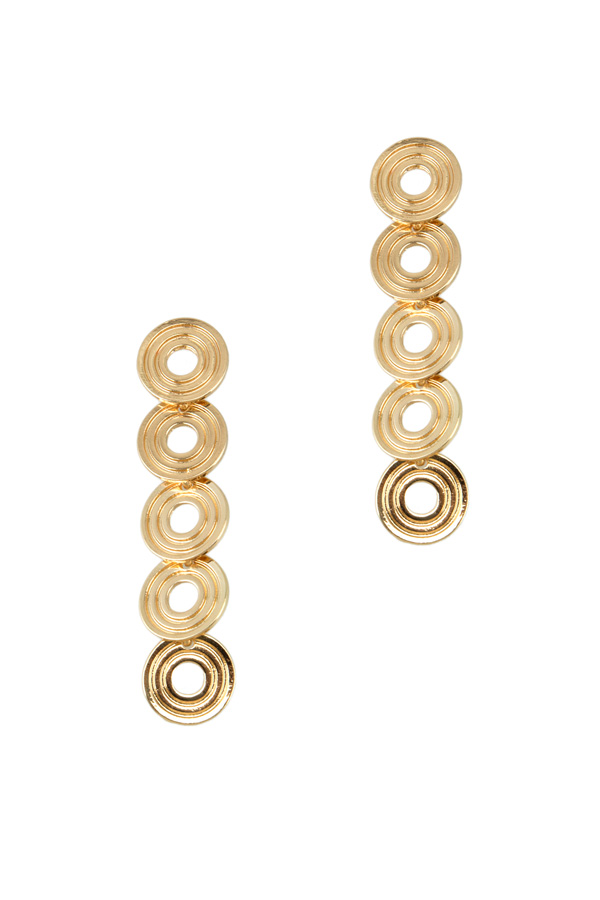 Circles Drop Earring
