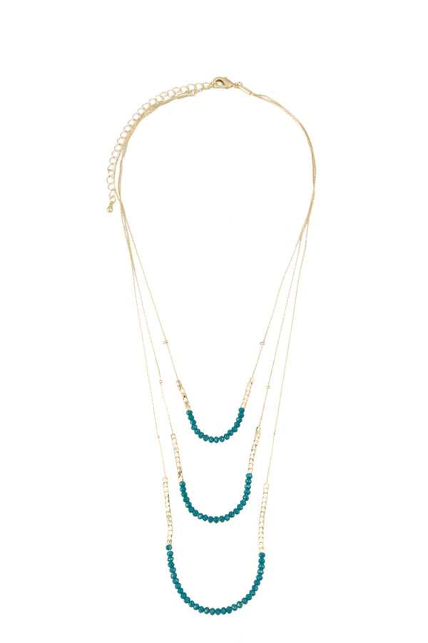 Beads Layered Necklace