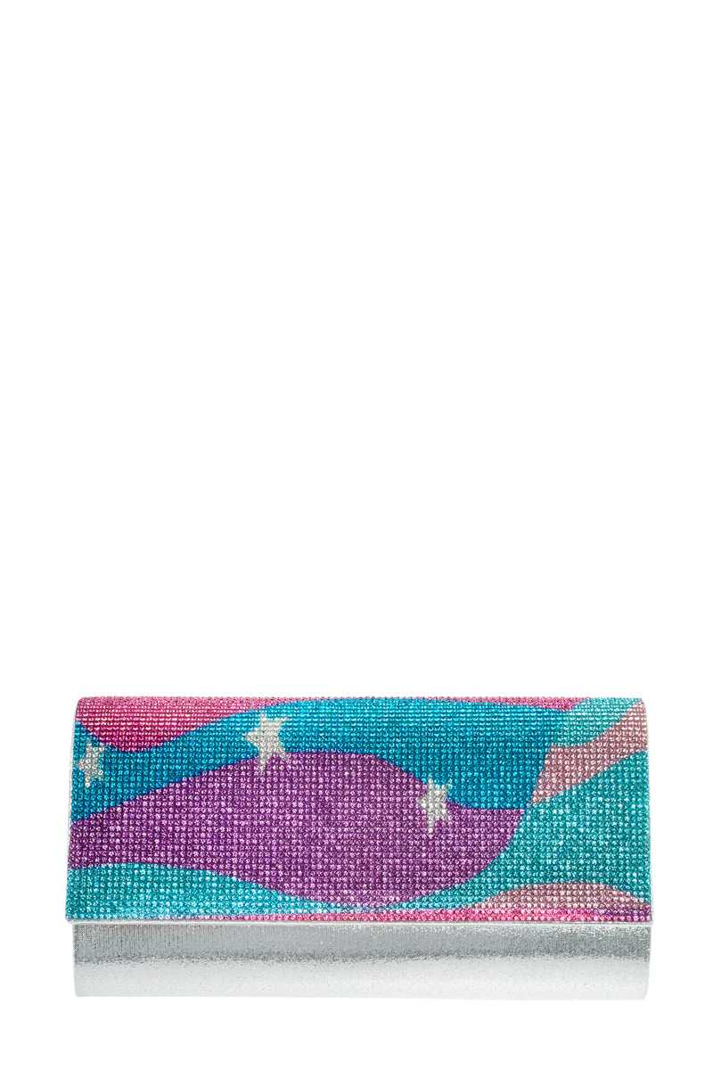 Blue Star Evening Clutch